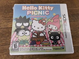 NEW SEALED Hello Kitty Picnic With Sanrio Friends (Nintendo 3DS, 2012) u... - $18.04
