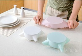 3PCS Universal Silicone Suction Lid-bowl Pan Cooking Pot Lids Silicone C... - $6.02