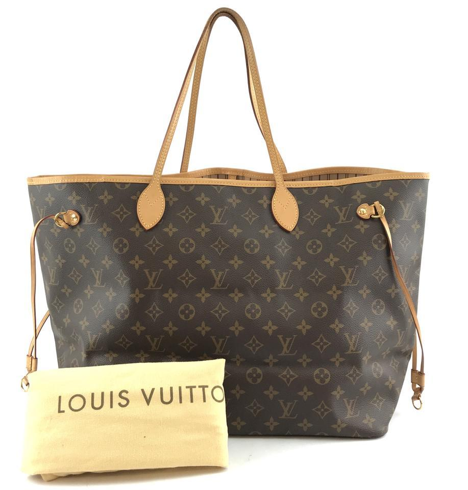 #32322 Louis Vuitton Neverfull Neo Nm Large Gm Tote Work Canvas Shoulder Bag image 2