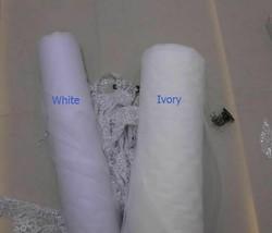 Wedding Veils White Ivory Cathedral Mantilla Wedding Bridal Veils Long Lace Edge - $87.51+