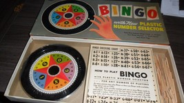 VTG Whitman Whirl-a-Round Bingo Game #5619:98 - $3.95