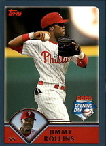 2003 Topps Opening Day Jimmy Rollins #31 > Philadelphia Phillies - $0.99