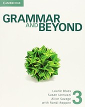 Grammar and Beyond Level 3 Student's Book Reppen, Randi; Blass, Laurie; ... - $21.71