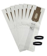 YourStoreFront 8 Allergen Vacuum Bags and 2 Belts for ORECK CC XL XL2 Up... - $25.31