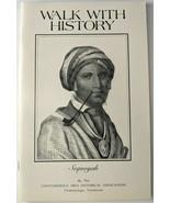 Walk With History (1976) Joan Franks Chattanooga Area Historical Associa... - $19.34