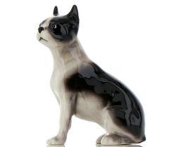 Hagen Renaker Pedigree Dog Boston Terrier Large Ceramic Figurine image 7