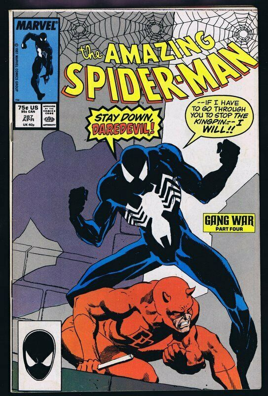 Primary image for Amazing Spider-Man #287 ORIGINAL Vintage 1987 Marvel Comics Daredevil