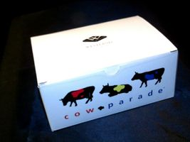 "Cows on Parade ""Big Apple"" Item # 9163 Westland Giftware Cow Parade AA-191813  V image 5"