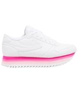 NIB*Fila Orbit Stripe White Pink Low Platform Sneaker*Size 6-10* - $135.00