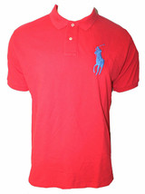 Polo Ralph Lauren Mens Custom Polo Top T-shirt short sleeve Big Pony HG97 - $71.96