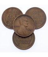 Lot of 4 Lincoln Cents (1910-S, 1911-S, 1912-S, 1915-S) VG+ to Fine Cond... - $119.16 CAD