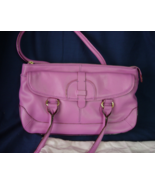 Isaac Mizrahi Live Satchel Handbag with Dust Cover - Mulberry Color - NWOT - $28.00