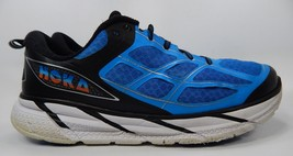 Hoka One One Clifton 2 Men's Running Shoes Size US 14 M (D) EU 49 1/3 Blue Black