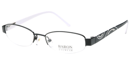 Baron Eyewear 5062 Eyeglasses in Black - $59.99