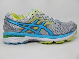 Asics Gt 2000 4 Size US 8 M (B) EU 39.5 Women's Running Shoes Silver Blue T656N