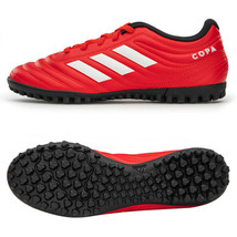 Adidas Copa 20.4 TF Turf Football Shoes Soccer Cleats Red G28521 - $71.99