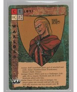 Loki - CE - Avatar - Intrigue Power Blood Wars Collectible Card Game TSR... - $3.87