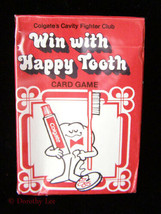 Win With Happy Tooth Card Game Colgate Advertising Premium 1981 New - $16.99