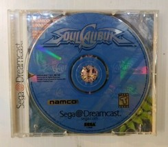 Soul Calibur Sega Dreamcast 1999 Namco Video Game Disc Only  - $14.73