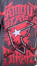 Famoso Stars Y Correas Gris Carbón Rojo Guerra Stories Juventud Niño Camiseta image 2