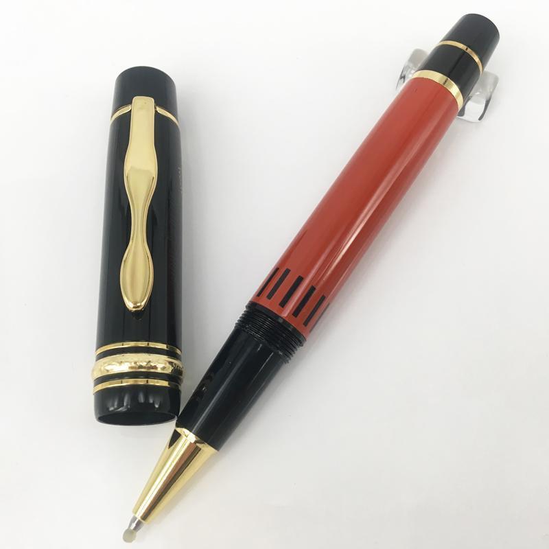 Luxury Hemingway Signature Orange/Black Ballpoint Pen ,Smart Looking office and