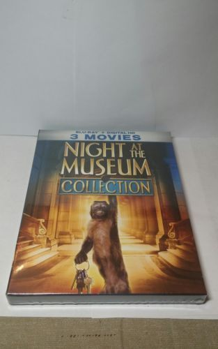 Night at the Museum Collection (Blu-ray+HD Digital)NEW-Same day Free Shipping