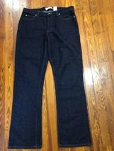 GAP Womens 12 Reg Heavy Duty Boot Cut Indigo Jeans Euc Dark Wash Button Fly - $19.99