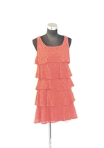ND New Directions Tiered Lace Sleeveless Dress Size 4 Womens  - $12.00