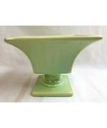 "Haeger USA Pottery Light Green Footed Pedestal  Planter Dish Bowl 4.5"" - $24.95"