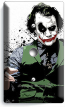 SAD JOKER BATMAN DARK KNIGHT LIGHT DIMMER CABLE WALL PLATES DORM ROOM AR... - $10.99