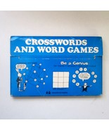 1975 Educational Insights Crosswords and Word Games Set No. 9321 - $7.99