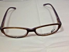 Nine West Women's Petite Eyeglass Frames NW 443 OERL 135 Brown / Lavender - $26.99