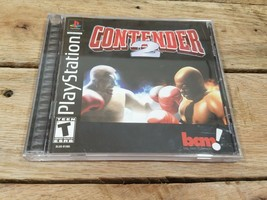 Contender 2 for Playstation PS1 Complete Fast Shipping! - $3.93