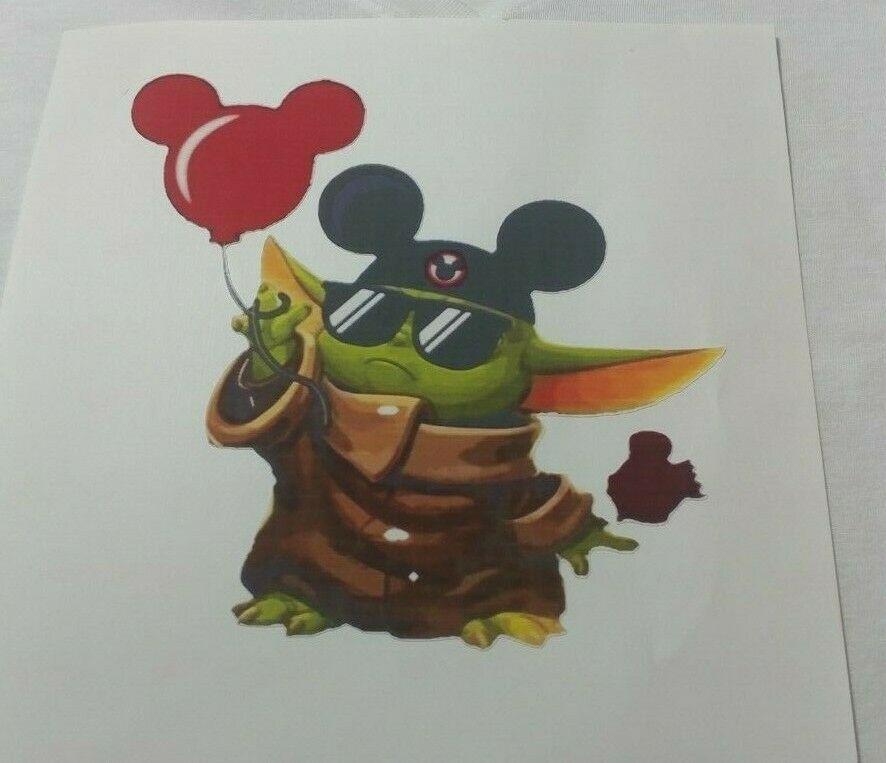 Disney Baby Yoda Kids Tee Shirt size choice - $14.00