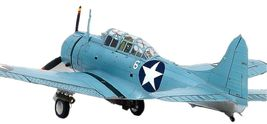 Academy 12335 USN SBD-2 Battle of Midway Plamodel Plastic Hobby Model Airplane image 5