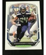 2013 Bowman Football #19 Marshawn Lynch Seattle Seahawks - $0.98