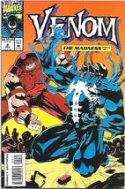 VENOM #2 The MADNESS 1993 FINE+ or better MARVEL COMICS Kelly Jones, Noc... - $7.95