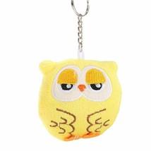 Owl Keychain Lovely Plush Keyring Car Unisex Handbag Pendant Hanging Dec... - $8.05