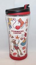 Starbucks Coffee Christmas Holiday Child Travel Mug Tumbler 8 fl oz 230ml 2007 - $22.08