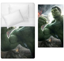 Hulk Duvet Cover Single double Bed Size queen king california sizes - $70.00+