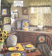Simplicity Crafts 8880 Kitchen Appliance Cover Place Mat Apron Shirley B... - $8.95