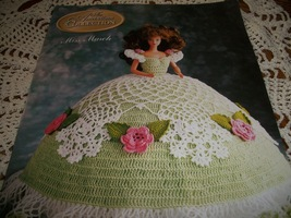 Miss March Fashion Doll Crochet Dress Pattern  - $10.00
