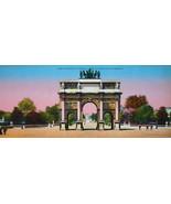PARIS in 1900s Beautiful Chromotype Photo - Arc de Triomphe Triumphal Arch - $19.80