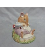Royal Doulton Brambly Hedge Mr. Toadflax Figurine - $27.72