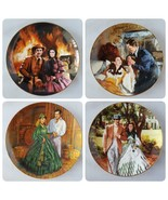 Gone With The Wind Limited Edition Plate China Collector Plates Set of 4... - $53.89