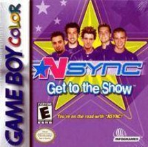 NSYNC: Get to the Show (Nintendo Game Boy Color, 2001) - $2.47