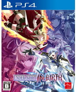 PlayStation 4 UNDER NIGHT IN-BIRTH Exe: Late [cl-r] Video Game From Japa... - $79.19