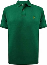 Ralph Lauren GREEN Polo Medium Fit Interlock Polo Shirt, US 2X-Large - $34.65