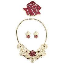 Disney Store Beauty & the Beast Princess Belle Jewelry Accessory Set - $29.99