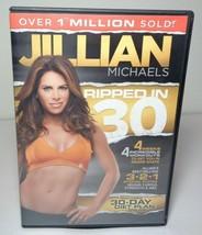 Jillian Michaels: RIPPED IN 30 New DVD 4 Weeks 4 Incredible Workouts - $34.65